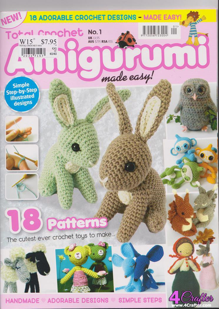 Amigurumi Made Easy Magazine : Message - 4Crafter Free Crafting Patterns Online