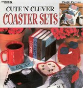 Cute N Clever Coaster Sets - 1863 - Miz Fitz - Leisure Arts