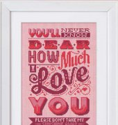 How Much I Love You - Emma Congdon - Stitchrovia