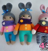 Cute dolls crochet pattern - Suwannalovecraft