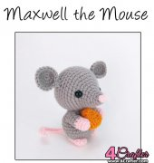 Maxwell the Mouse - Theresa Gray - Affordable Cuteness - Theresas Crochet Shop