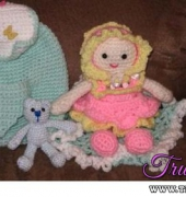 Back Pack Baby Doll - KristieMN - Kristie's Kids - Kristie's Kreations