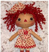 Little Long Legged Big Haired Annie - De Powell - bowls-n-annies