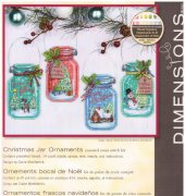 Christmas Jar Ornaments - 70-08964 - Dimensions