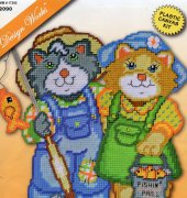 Gone Fishing Cats - 2090 - Design Works Crafts