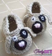 Puppy Love Baby Shoes - Lisa van Klaveren - Holland Designs