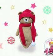 Big Honey Bear - Sayjai Thawornsupacharoen - K and J Dolls