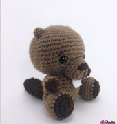 Crocheted Beaver - Theresa Grey - Affordable Cuteness - Theresa's Crochet Shop