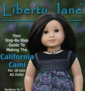 "California Cami Top - Fits 18"" Dolls - Liberty Jane Clothing"