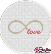 Infinite Love - Daily Cross Stitch