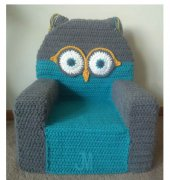 Owl Toddler Chair - Julie Marie Trimpe
