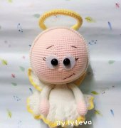 Crochet Activity ~ Bonnie with Angel Costume