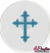 Holy Cross - Daily Cross Stitch
