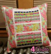 Quilted Pillow Cover - Unknown