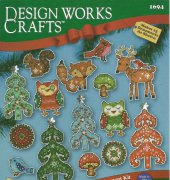 Woodland Ornaments - 1694 - Ellen Krans - Design Works Crafts