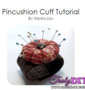 Pincushion Cuff Tutorial - Keyka Lou - free