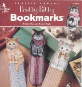 Pretty Kitty Bookmarks - 871833 - laura kramer doyle - Annies Attic