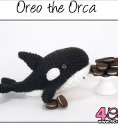 Oreo the Orca - Theresa Gray - Affordable Cuteness - Theresas Crochet Shop