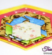 Tutorial How to Draw Hexagon for Quilt Block - Joanne Loh - Craft Passion - Free