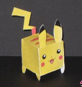 Boxy Pikachu Papercraft - Lee Urn Lun - English - Free