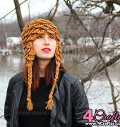 4cb8684af34 Crocodile Earflap Adult Hat- Lianka Azulay - Bonita Patterns