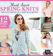 Must Have Spring Knits - Spring 2017 - Supplement Knit Now Magazine - Practical Publishing - Rico Design
