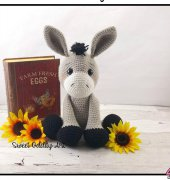 Diego the Donkey - Carolyne Brodie - Sweet Oddity Art
