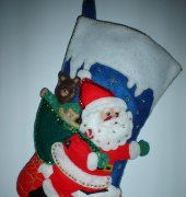Santa Stocking - Bucilla