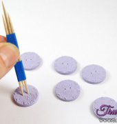 Advice for Making Polymer Clay Buttons