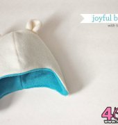 Joyful Baby Hat with Teddy Bear Ears - Joy Kelley - Joyful Bear - Free