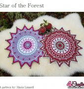 Star Of The Forest Mandala - Maria Limnell - Free