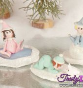 Baby Elves Figures by Jackie Haskell (Creative Crafter Magazine) - free
