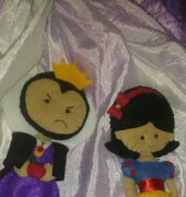 Snow White and Evil Stepmother - Mimos da Chris