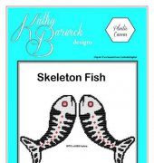 Skeleton Fish -Kathy Barwick Designs