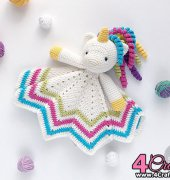 Security Blanket Sweet Unicorn - Natalya Birina - Tilly Some