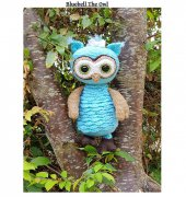 Bluebell the Owl - Tracey Denise - The Crochet Crazy Crew