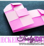 Valentine's Day Checkered Heart video tutorial - free