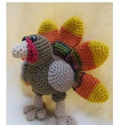 Tory the Turkey - Deb Richey - CraftyDeb