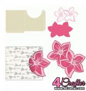 Flower Tag with Sleeve - Carina Gardner
