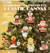 Christmas Ornaments For Plastic Canvas- 256 - Dick Martin - Leisure Arts