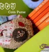 Kitty Coin Purse Tutorial - Joanne Loh - Craft Passion - Free