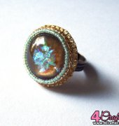Bead Embroidery Ring