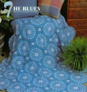 The Blues Afghan - Joyce Messenger - Annies Crochet Quilt Afghan Club