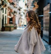 Simple Crochet Poncho With Sleeves - Made From Rectangles - Jess Coppom - Make And Do Crew - Free