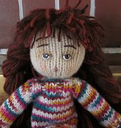 Travel Doll: Jointed Head - Beth Ann Webber - By Hook By Hand - Free