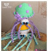 Octopuses Johnny and Jenny - Luera Toy - Spanish