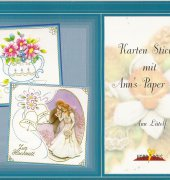 Hobbydols 7 - Stitching cards with Ann's Paper Art - Ann Lütolf (German)