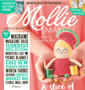 Mollie Makes - Issue 95 - 2018 - Immediate Media