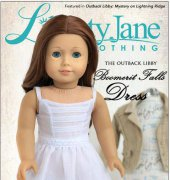 "Boomerit Falls Dress - Fits 18"" Dolls - Liberty Jane Clothing"
