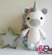 Katie The Unicorn - Carolyne Brodie - Sweet Oddity Art